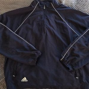 Adidas clima shell quarter zip jacket